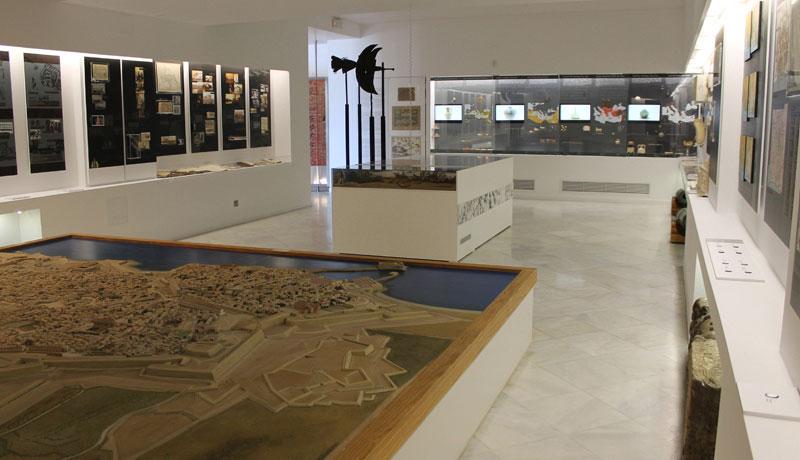 Η ανανεωμένη αίθουσα Α.Γ. Καλοκαιρινού στο Ιστορικό Μουσείο Κρήτης.