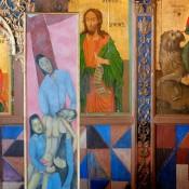 Σύγχρονες εικαστικές δημιουργίες σε μεσαιωνικές εκκλησίες της Κύπρου
