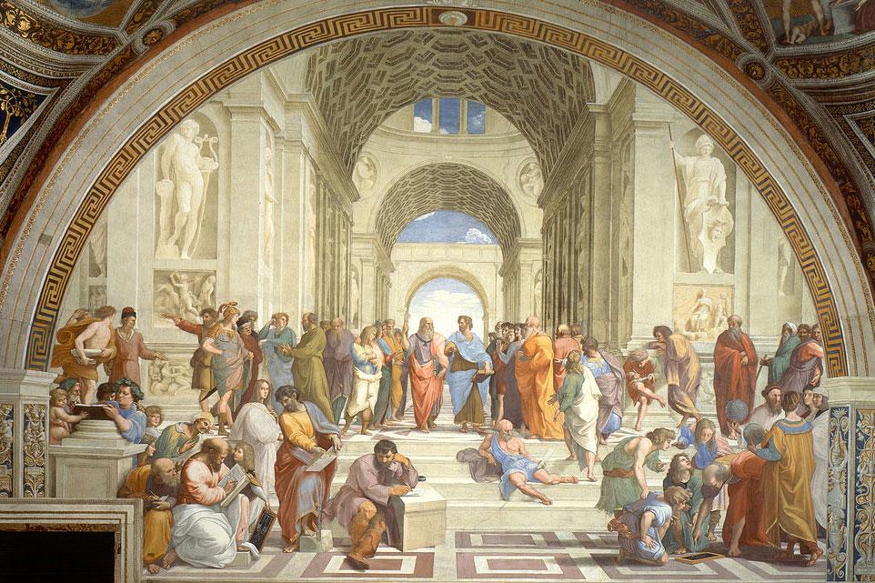 Ραφαήλ, «Η Σχολή των Αθηνών».