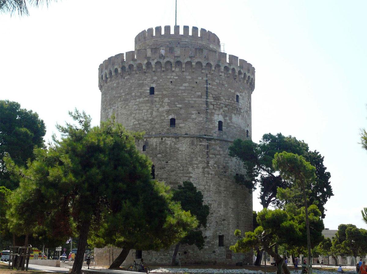 Ο Λευκός Πύργος της Θεσσαλονίκης.