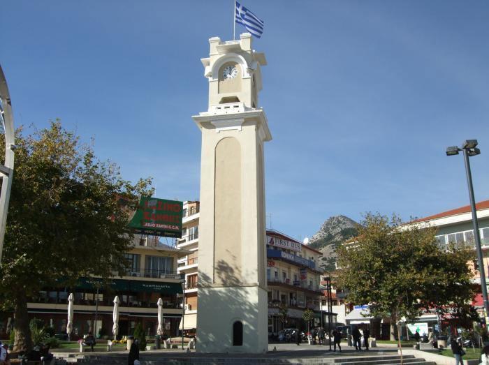 Ο Πύργος του Ρολογιού στην Ξάνθη (φωτ. Wikimapia.org).