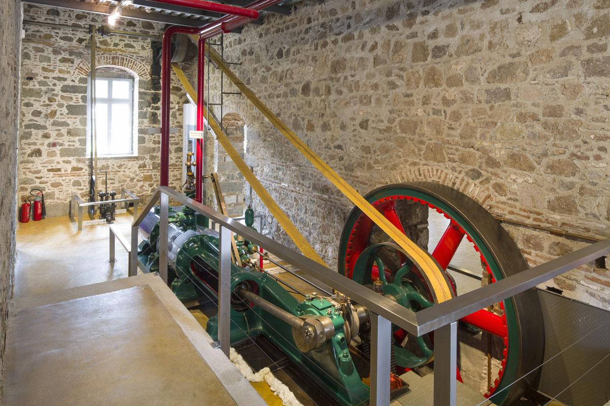 Ατμομηχανή, Μουσείο Βιομηχανικής Ελαιουργίας Λέσβου