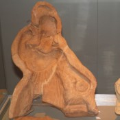 Η Αθηνά Χαλινίτιδα σε πήλινη μήτρα