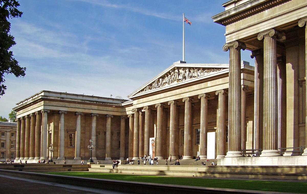 Το Βρετανικό Μουσείο (φωτ.: Βικιπαίδεια).