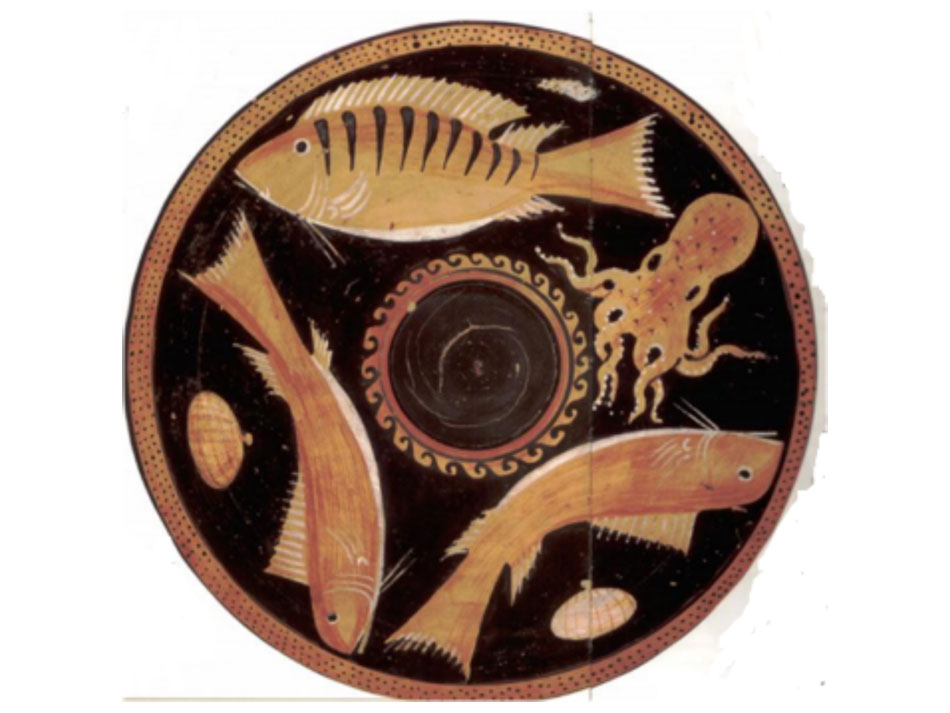 Εικ. 3. Θαλασσινά. Πινάκιο, Μουσείο του Λούβρου (Royer/Salles/Trassard 2005, σ. 67).