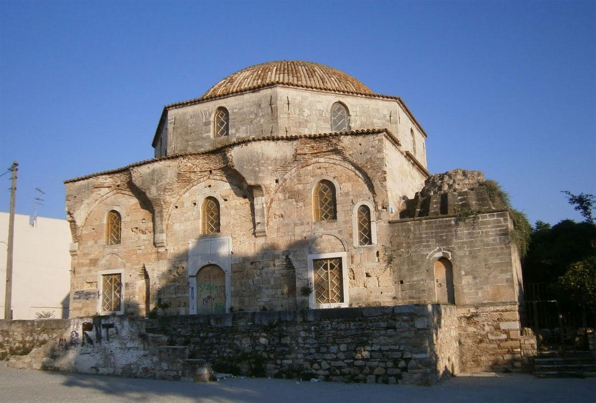Το τέμενος Εμίρ Ζαδέ στη Χαλκίδα.