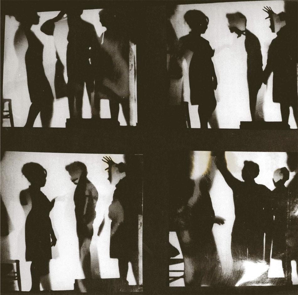 Νίκος Κεσσανλής, Πάρτυ, 1965, φωτογραφία σε ευαισθητοποιημένο πανί, 115x115 εκ.