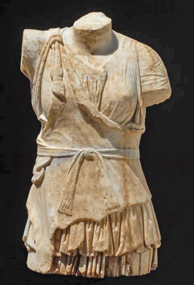 Εύρημα από την ανασκαφή στο αρχαίο θέατρο της Λάρισας (φωτ. «Διάζωμα»).