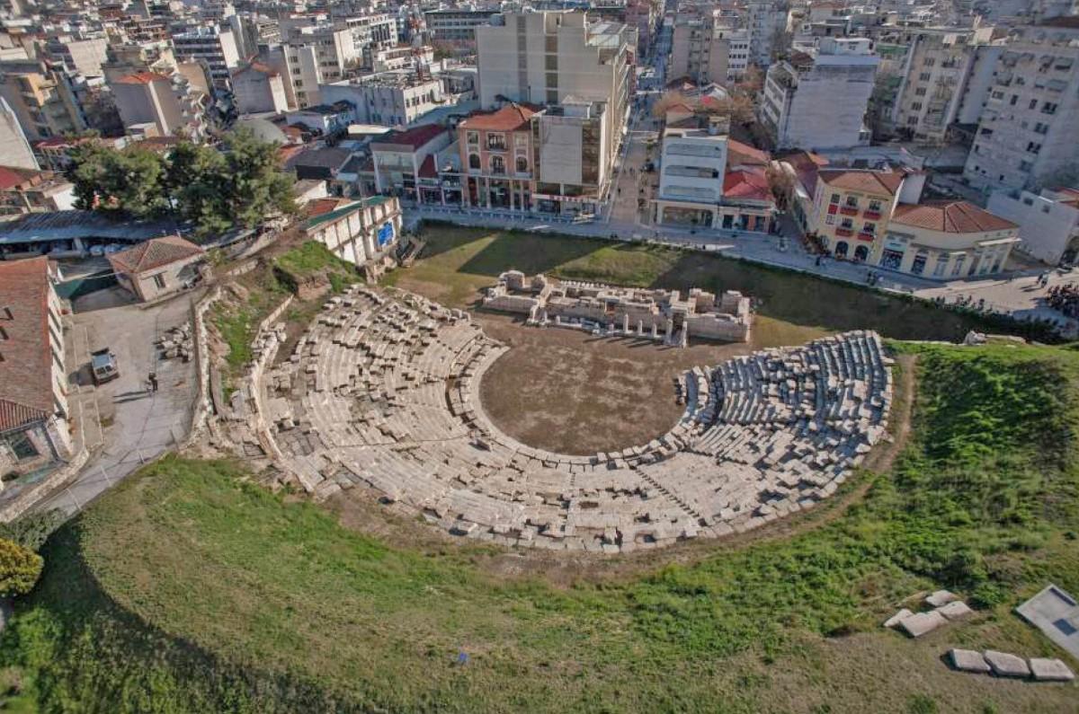 Το αρχαίο θέατρο της Λάρισας (φωτ. «Διάζωμα).