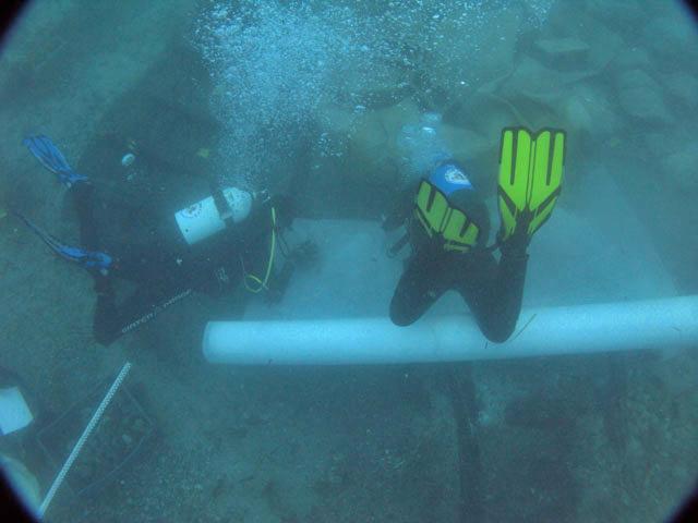 Συστηματική υποβρύχια ανασκαφή διενεργεί η Γενική Διεύθυνση Αρχαιοτήτων και Πολιτιστικής Κληρονομιάς στο ισπανικό ναυάγιο στο λιμάνι της Ζακύνθου (φωτ. ΥΠΠΟΑ).