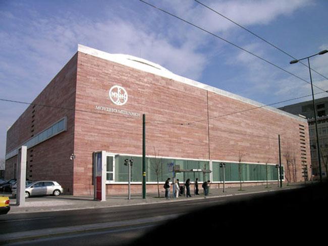 Το Μουσείο Μπενάκη στην οδό Πειραιώς.