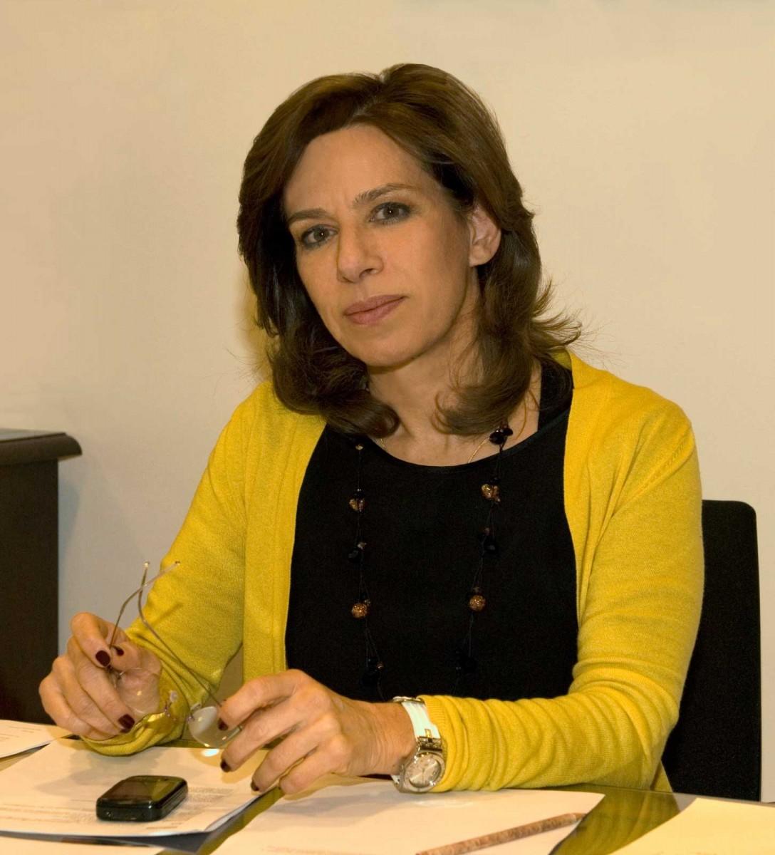 Η Αναστασία Λαζαρίδου.