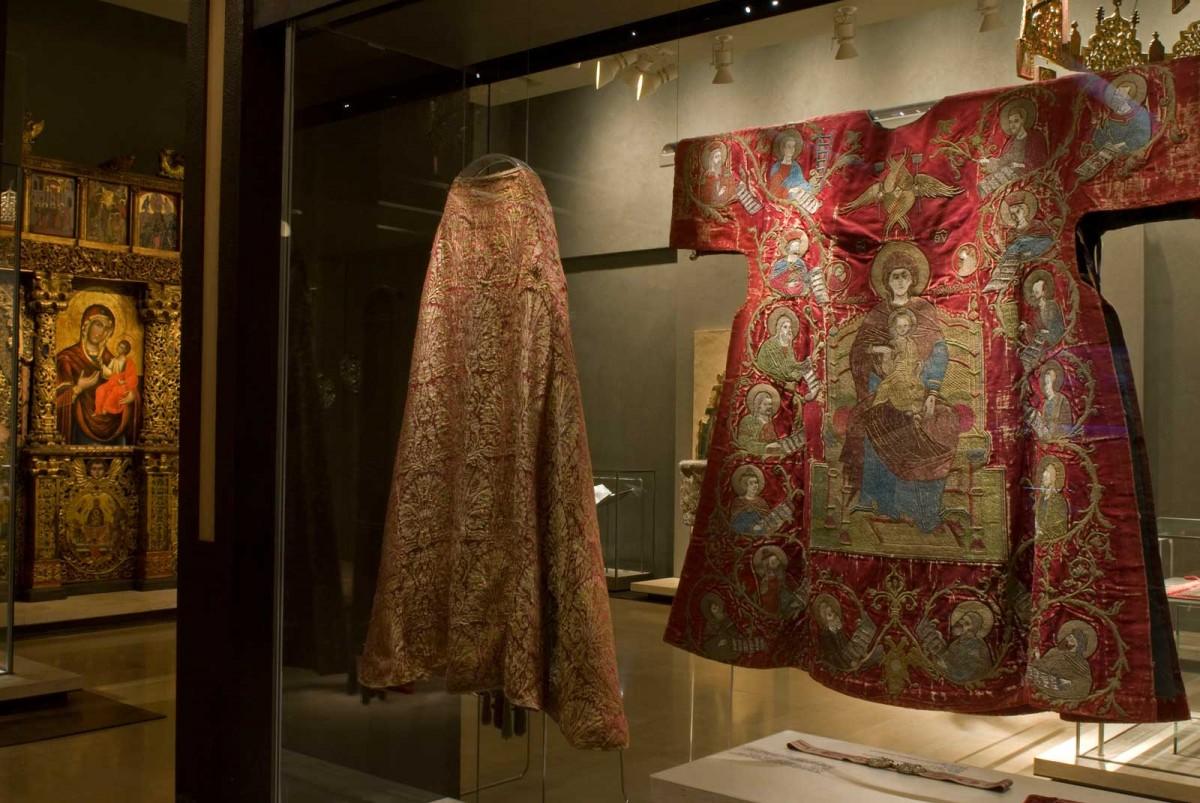 Βυζαντινό και Χριστιανικό Μουσείο. Εκθέματα από τη Μεταβυζαντινή Συλλογή.
