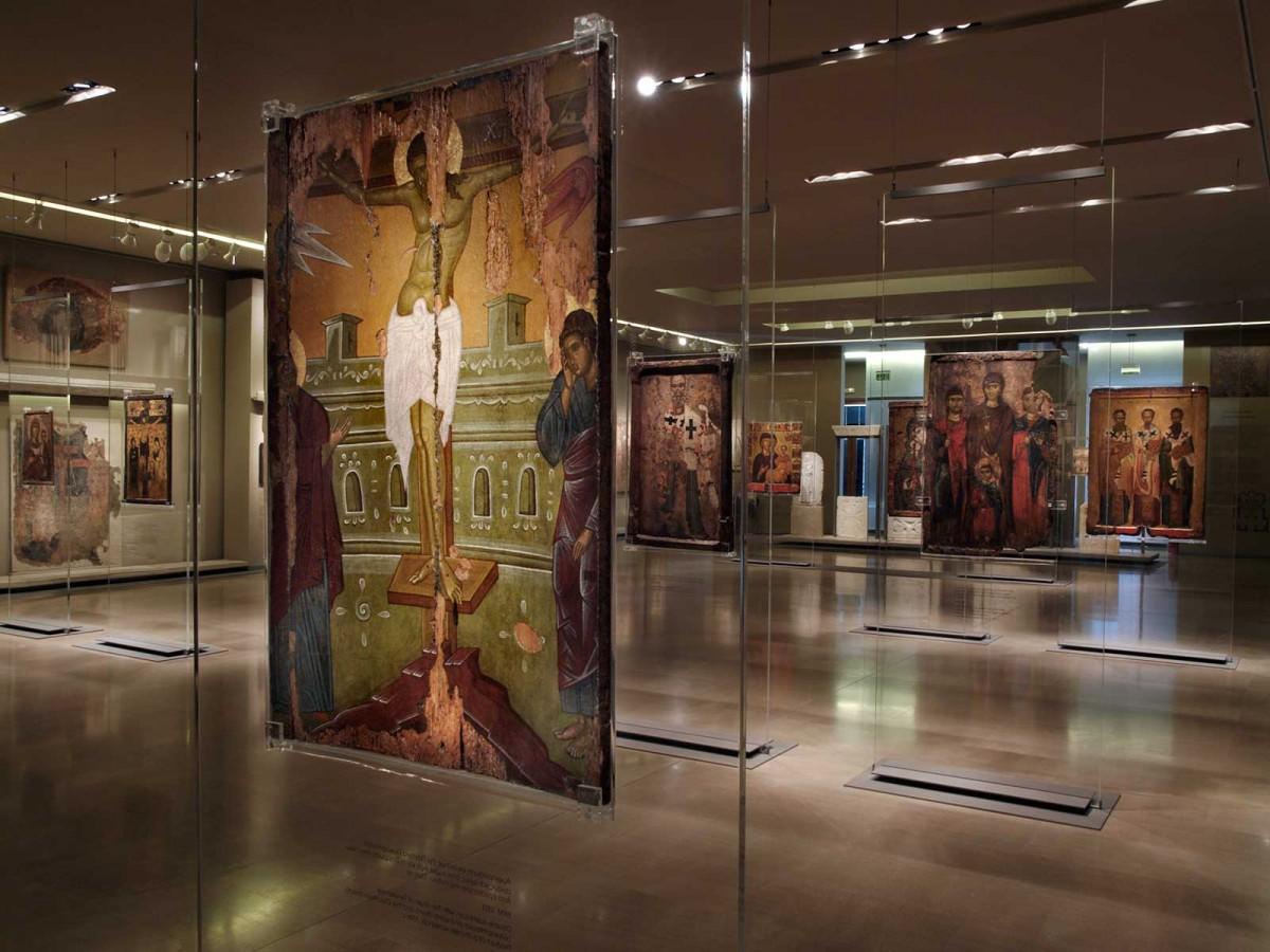 Βυζαντινό και Χριστιανικό Μουσείο. Εκθέματα από τη Βυζαντινή Συλλογή.