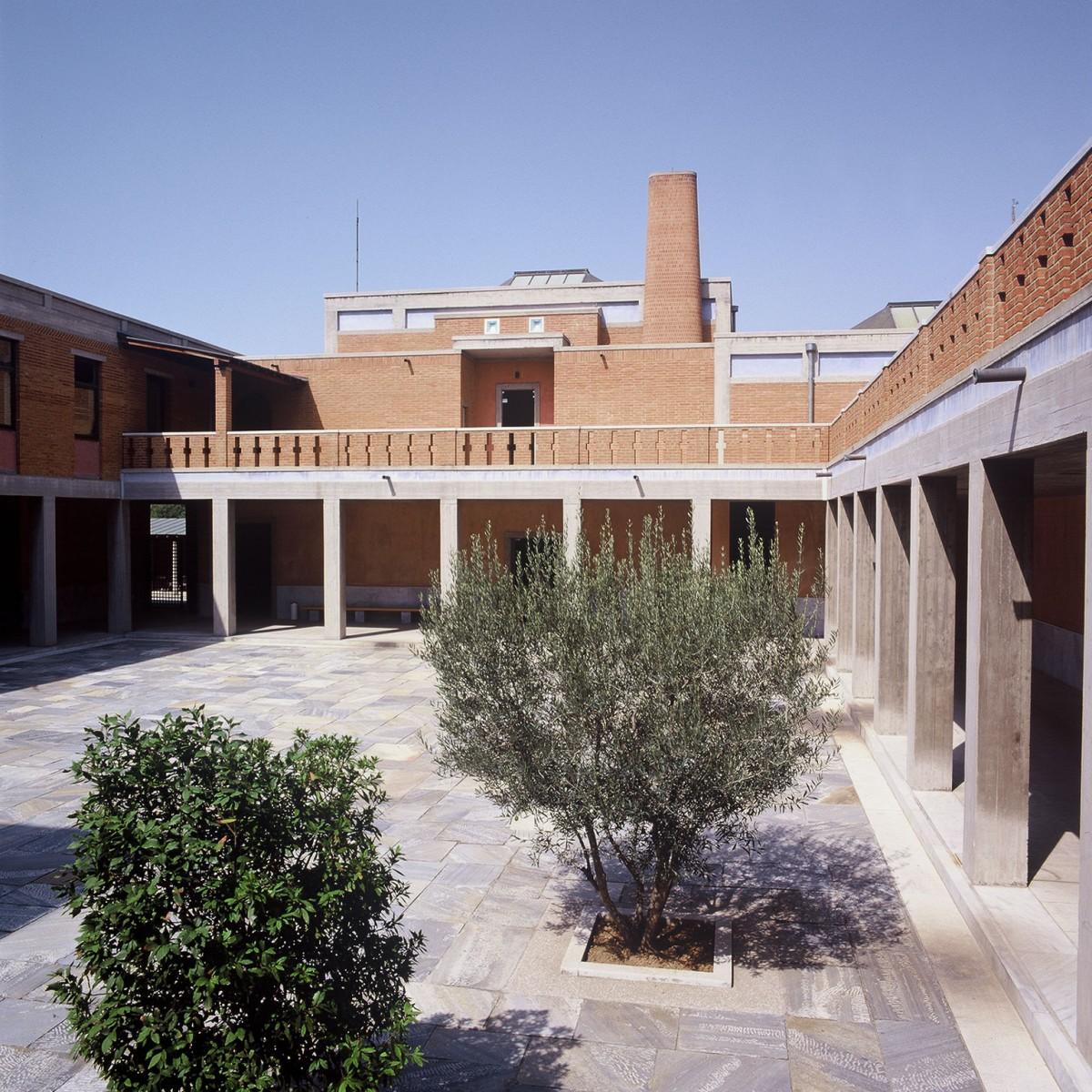 Εικ. 2. Το αίθριο του Μουσείου Βυζαντινού Πολιτισμού.