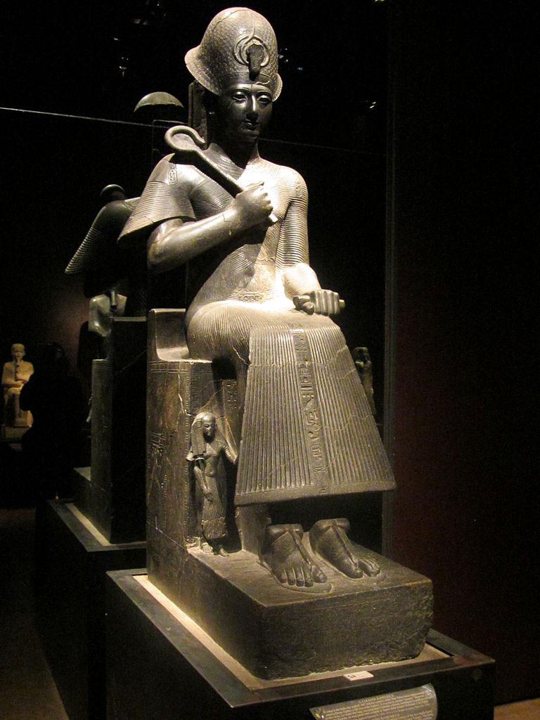 Άγαλμα του Ραμσή Β'. Αιγυπτιακό Μουσείο, Τορίνο.