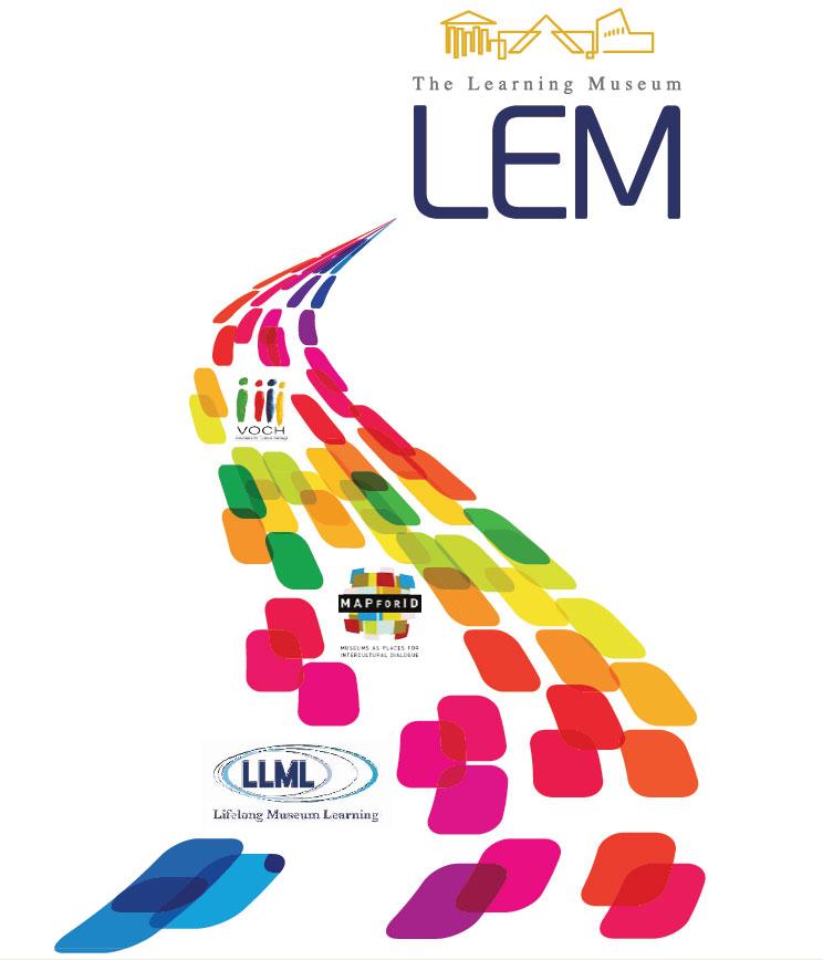 Εικ. 1. Η πορεία του προγράμματος LEM στο χρόνο. Γραφική αναπαράσταση του προγράμματος ως σημείου εκκίνησης για πολλά άλλα έργα, με θέμα τη διά βίου μάθηση, χρηματοδοτούμενα από την Ευρωπαϊκή Ένωση κατά το διάστημα 2003-2010.