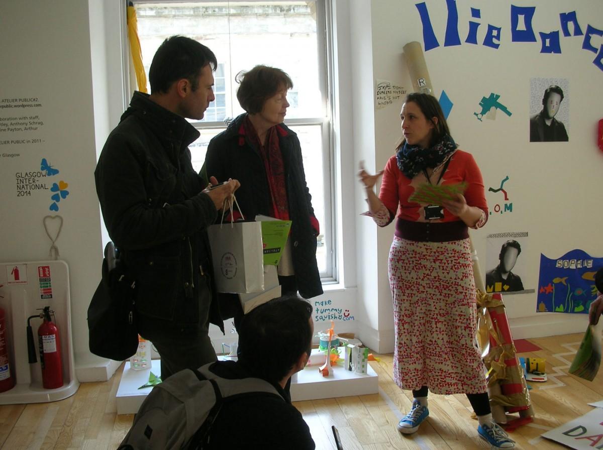 Εικ. 3. Επίσκεψη εργασίας στα Μουσεία της Γλασκόβης στο πλαίσιο του προγράμματος LEM, 24 Απριλίου 2014. Πηγή: IBACN.