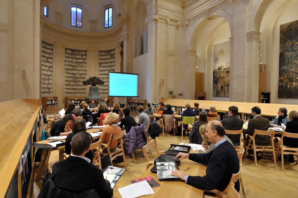 Εικ. 6. Η εναρκτήρια συνάντηση του προγράμματος LEM στη Μπολόνια, 3-4 Δεκεμβρίου 2010. Πηγή: IBACN, Andrea Scardova.