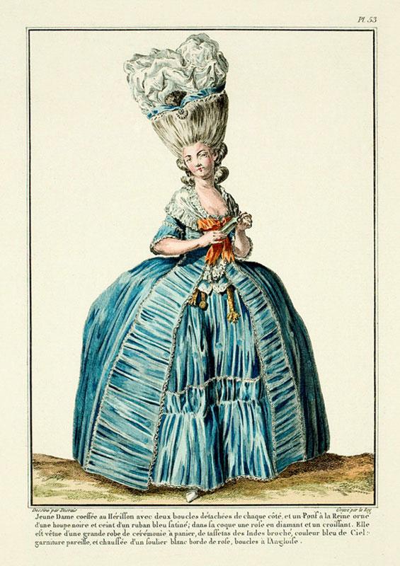 Γαλλικό φιγουρίνι του 18ου αιώνα.