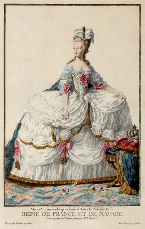 Η Μαρία Αντουανέτα.