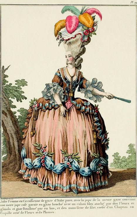 Γαλλικό φιγουρίνι, 1776.