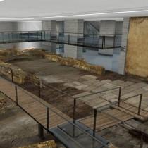 Απόσπαση και επανατοποθέτηση των αρχαιοτήτων στο σταθμό «Βενιζέλου»