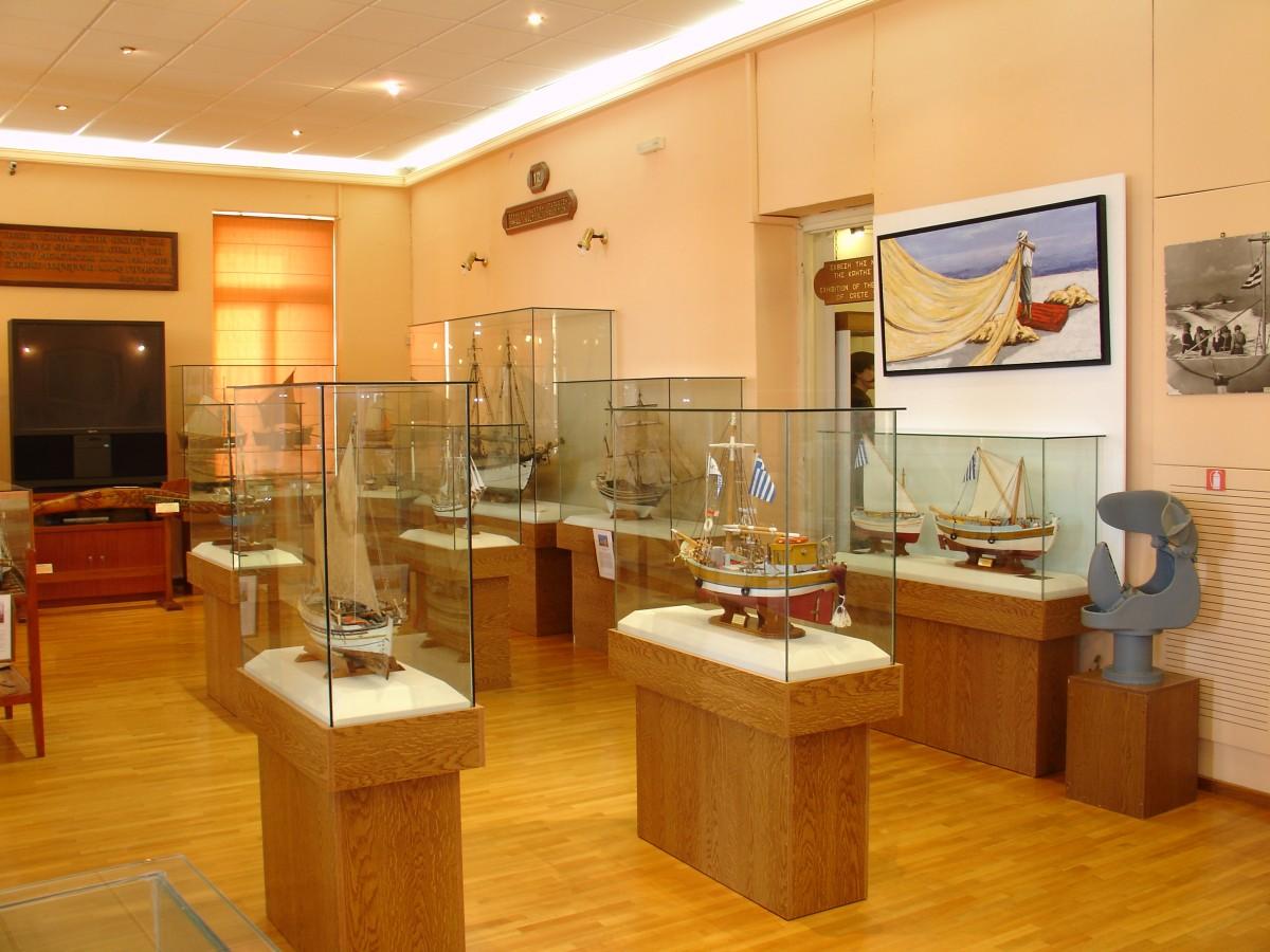 Παραδοσιακά σκάφη, Ναυτικό Μουσείο Κρήτης
