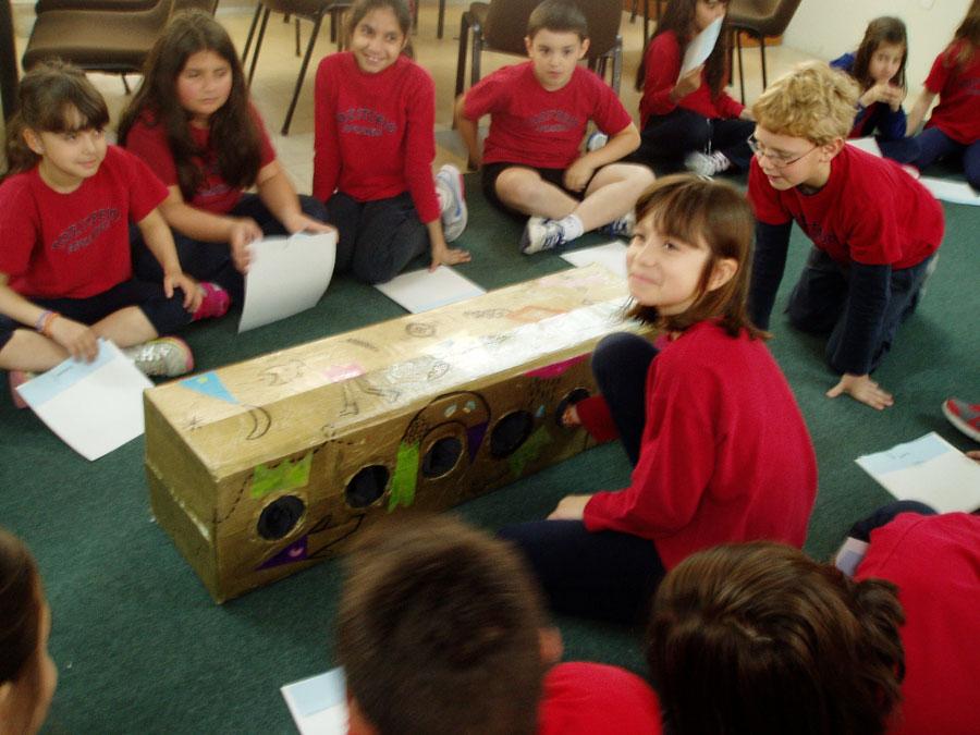 Εικ. 7. Πρόγραμμα για τον Κυκλαδικό Πολιτισμό, παιχνίδι ανακάλυψης στο στάδιο της προετοιμασίας, Γ' Τάξη, 2013.