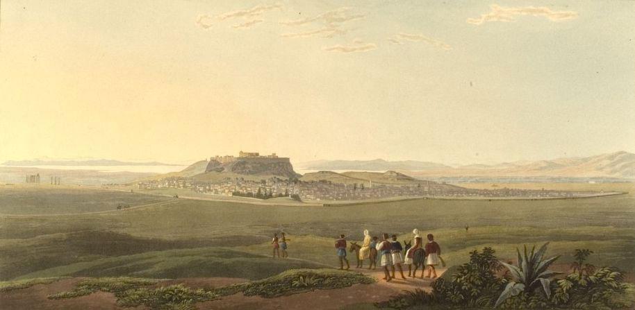 Edward Dodwell, Views in Greece (London, 1821), Γεννάδειος Βιβλιοθήκη, Αμερικανική Σχολή Κλασικών Σπουδών στην Αθήνα.