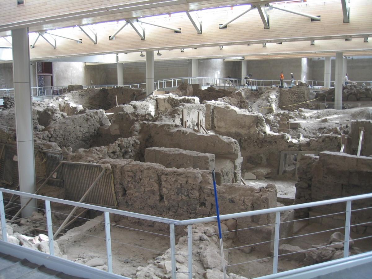 Εικ. 6. Άποψη της Ξεστής 3, όπου βρέθηκαν νεολιθικά όστρακα.