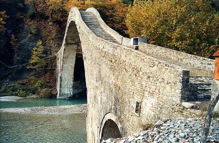 Το γεφύρι της Πλάκας (φωτ. Υπουργείο Πολιτισμού).