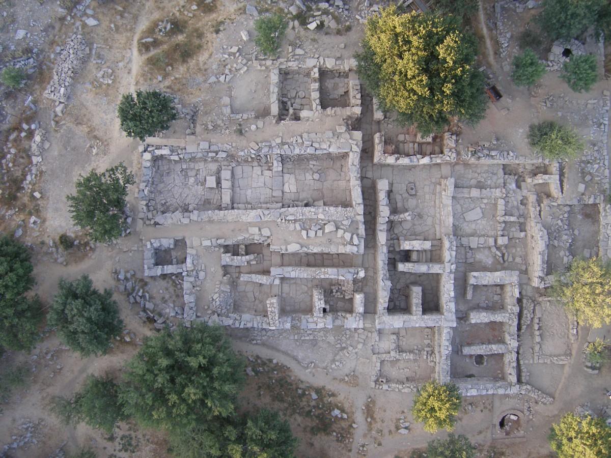 Εικ. 1. Άποψη της ανασκαφής στη Ζώμινθο.