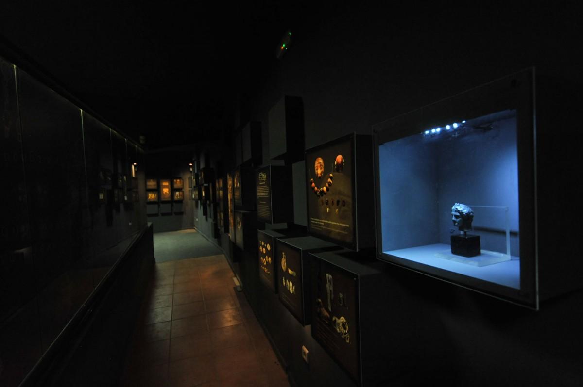 Εικ. 5. Ψηφιακό Μουσείο - Κέντρο αρχαιολογικής πληροφόρησης Ιδαίου Άντρου και Ζωμίνθου.