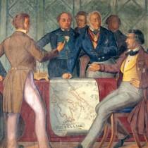 Κινδυνεύουν ιστορικής αξίας τοιχογραφίες στη Βουλή