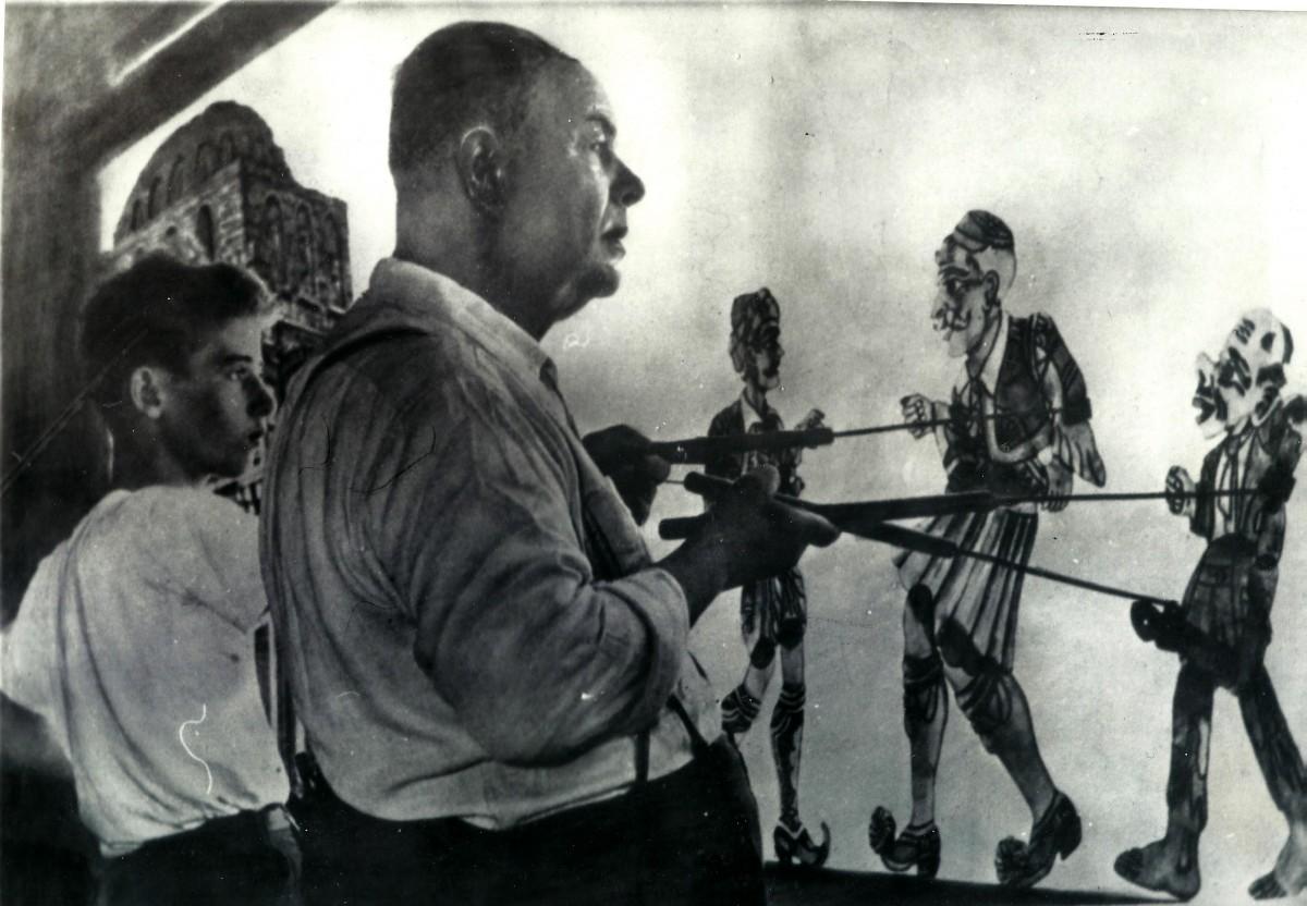 Χρήστος Χαρίδημος '49 , Μουσείο – Θέατρο Σκιών Χαρίδημος