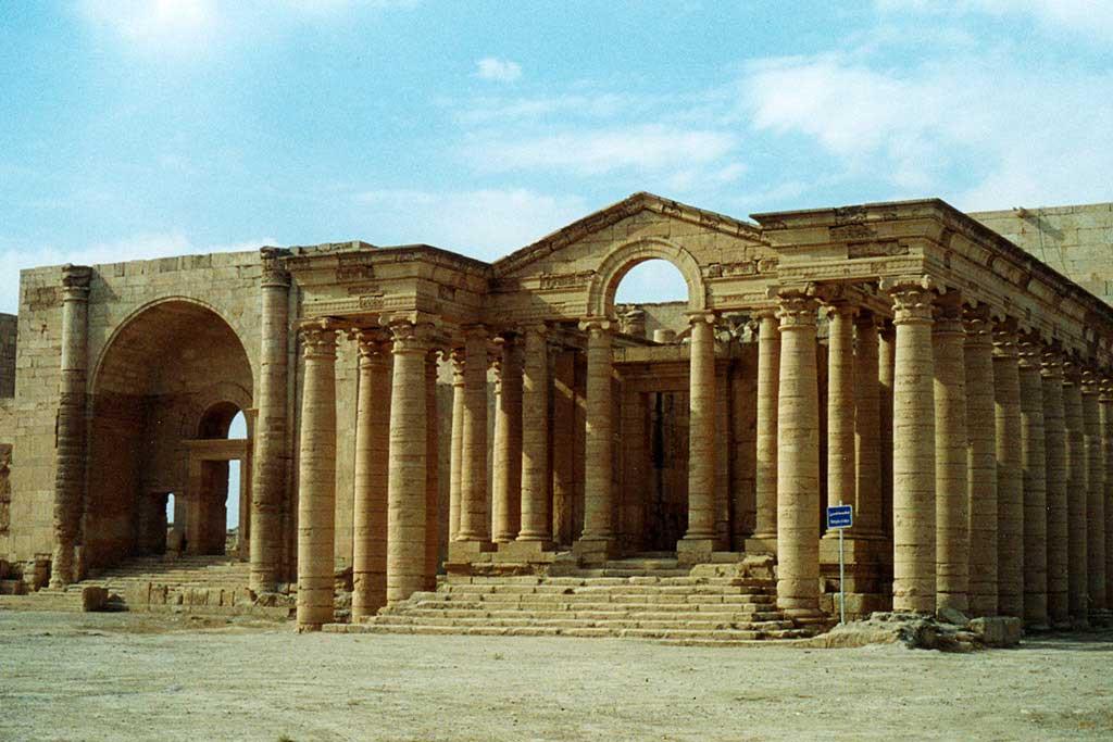 Τα μνημεία της αρχαίας πόλης Χάτρα, στο Ιράκ, περιλαμβάνονται στον κατάλογο της παγκόσμιας πολιτιστικής κληρονομιάς της UNESCO (φωτ. UNESCO/Véronique Dauge).