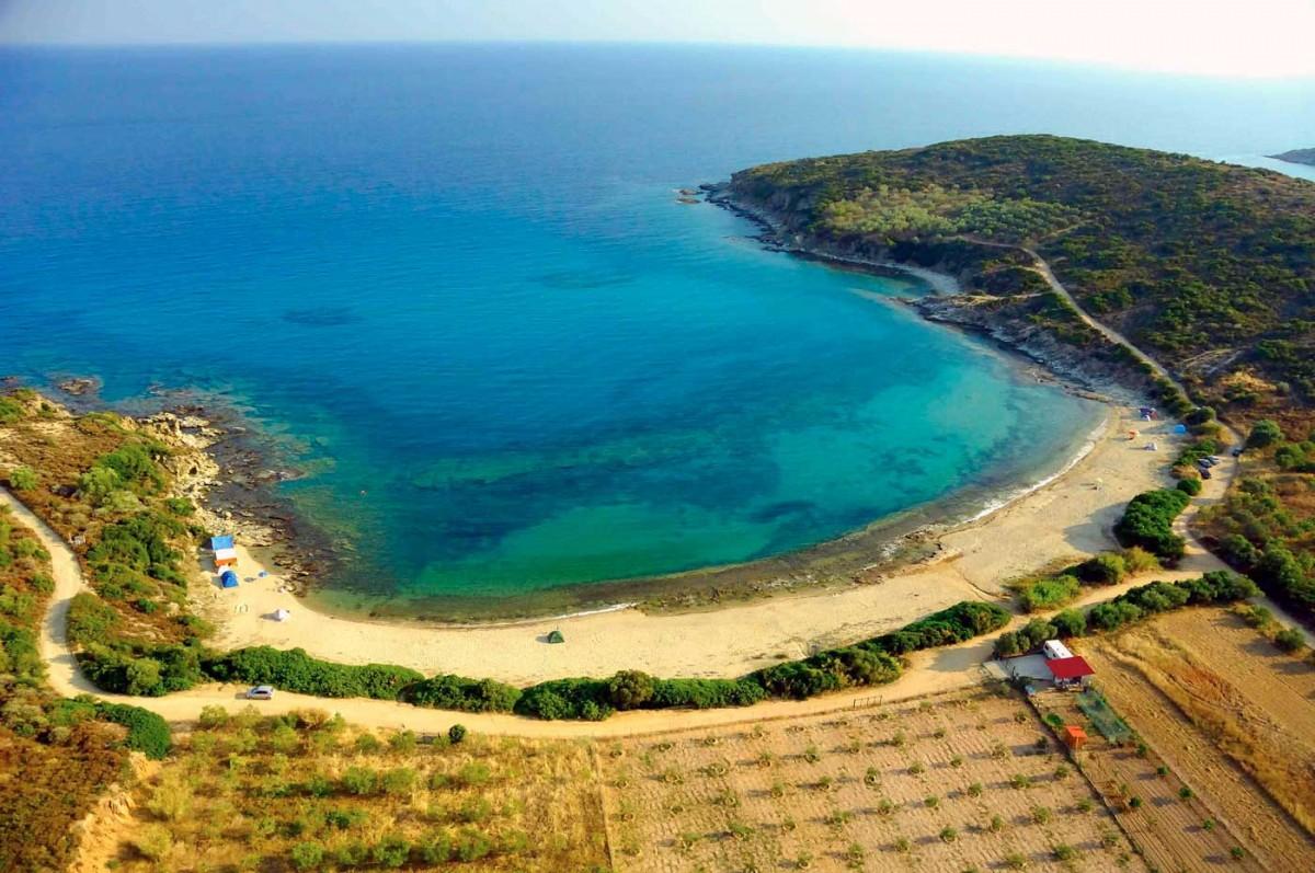 Σήμερα, η «χερσόνησος του Βρασίδα» είναι χαρακτηρισμένη ως αρχαιολογική περιοχή (φωτ. Αρχείο Δήμου Καβάλας / Αχιλλέας Σαββόπουλος).