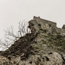 Κατέρρευσε τμήμα του κάστρου της Μύρινας