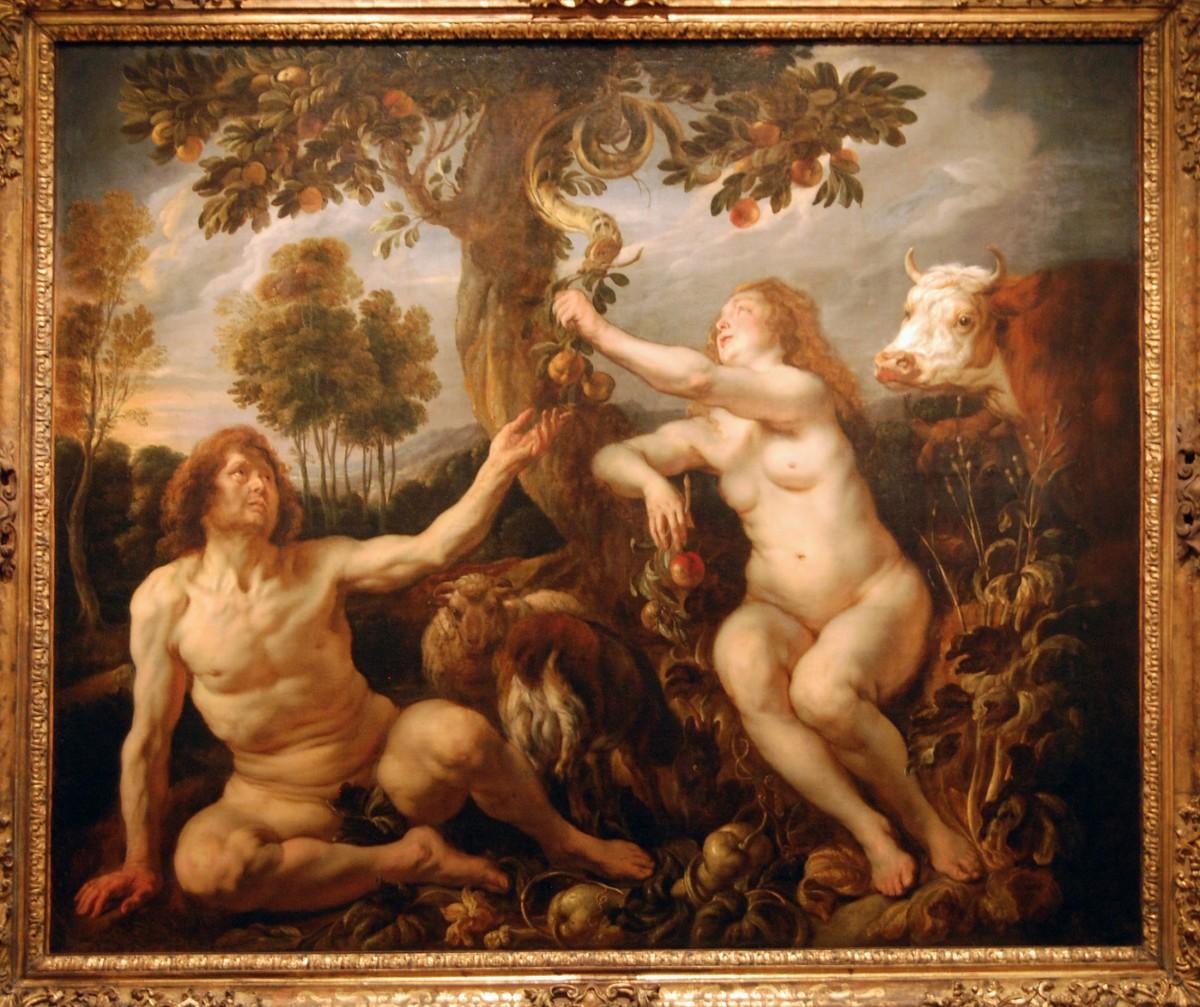Οι γενετικοί Αδάμ και Εύα δεν έχουν σχέση με τους (υποτιθέμενους) ομώνυμους βιβλικούς πρώτους ανθρώπους, καθώς δεν ήταν οι μοναδικοί πρόγονοί μας που ζούσαν τότε, πριν από 200.000 έως 250.000 χρόνια. Ήταν, όμως, οι τελευταίοι γενετικά κοινοί πρόγονοί μας.