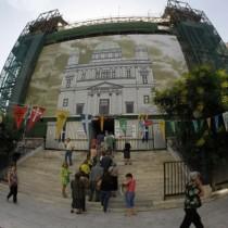 Ολοκληρώνονται οι εργασίες στον ναό των Αγ. Κωνσταντίνου και Ελένης