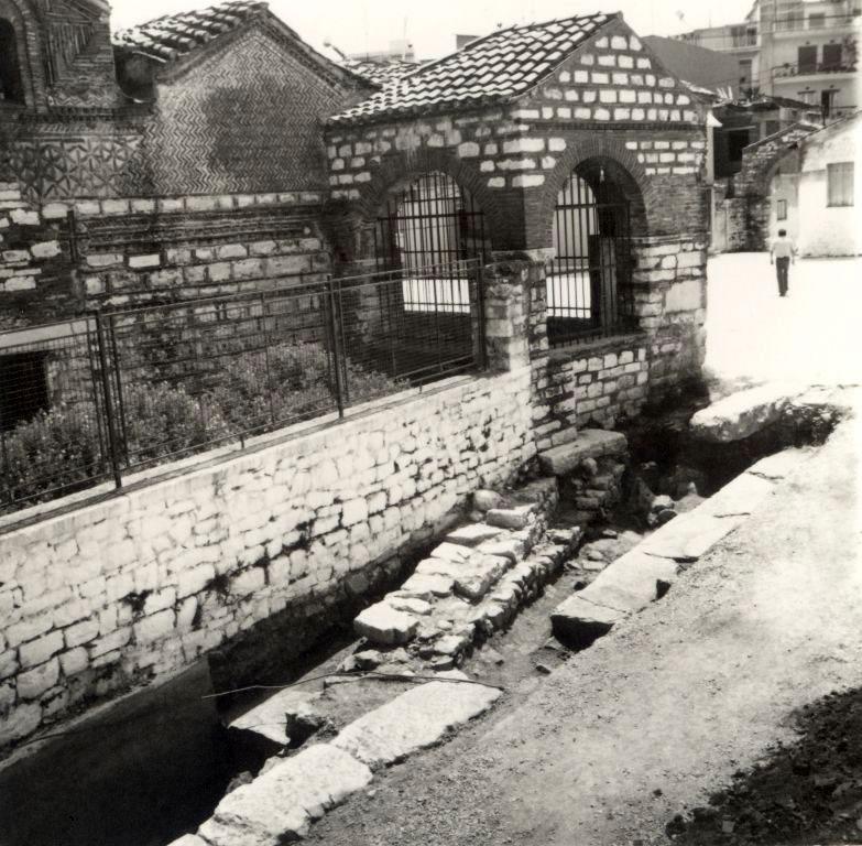 Η ανασκαφή του Πρυτανείου (φωτ. Αρχείο Εφορείας Αρχαιοτήτων Άρτας).