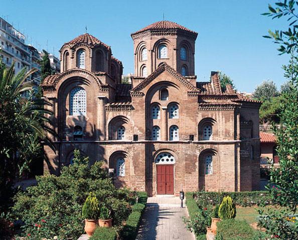 O ναός της Παναγίας Χαλκέων στη Θεσσαλονίκη, © 9η Εφορεία Βυζαντινών Αρχαιοτήτων.