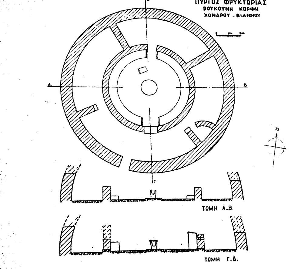 Εικ. 13. Βιάννος: ελληνιστικός πύργος φρυκτωρίας.