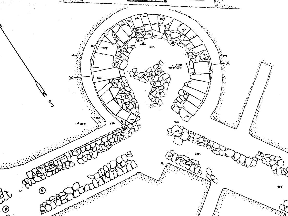 Εικ. 9. Κνωσός: κυκλικός πύργος ελληνιστικής οχύρωσης.