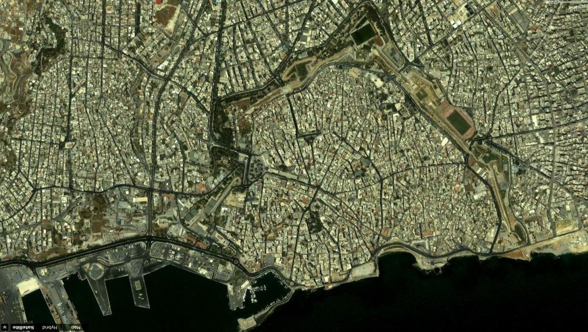 Εικ. 13. Οι βενετσιάνικες οχυρώσεις του Ηρακλείου σήμερα.