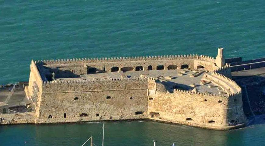 Εικ. 15. Ηράκλειο, το φρούριο Rocca al Mare (Κούλες).