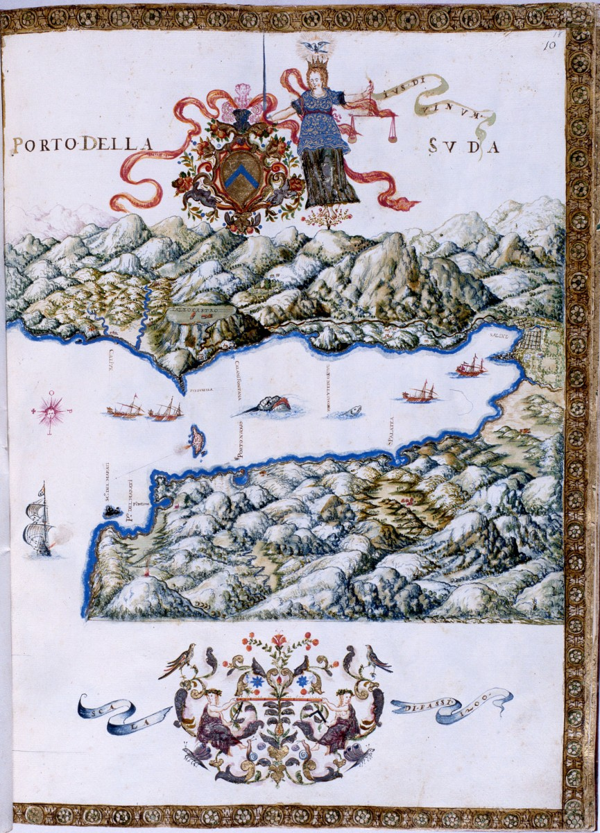 Εικ. 26. Ο Κόλπος της Σούδας (G. Corer 1625).