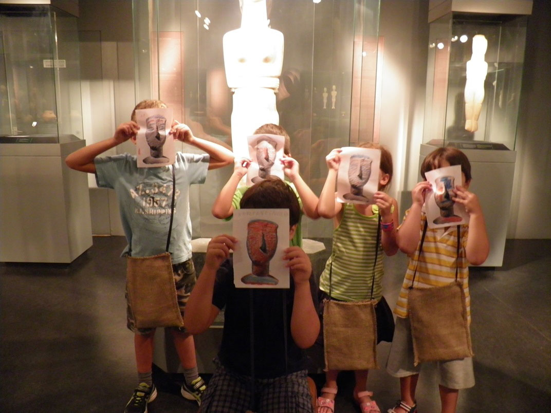 Το Μουσείο Κυκλαδικής Τέχνης υποδέχεται τα παιδιά και αυτό το καλοκαίρι.