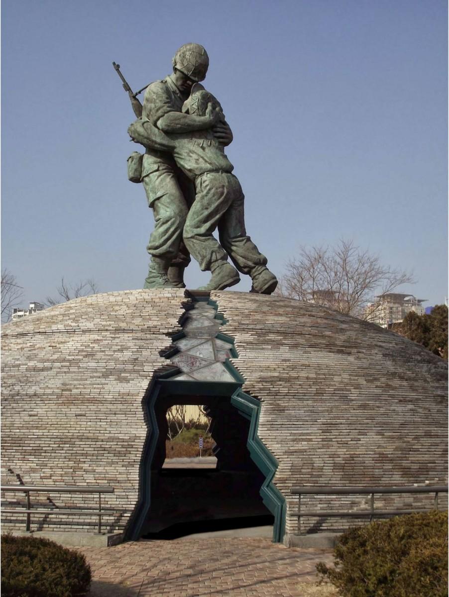 Εικ. 1. War Memorial of Korea, «Τα αδέλφια», Σεούλ 1993.
